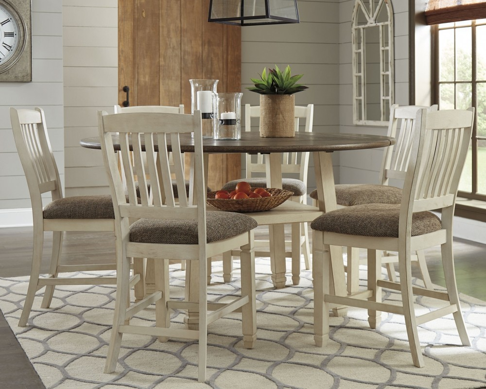 Bolanburg 5 Piece Dining Room Package D647 13 124 Dining Room Groups Pruitt S Fine Furniture