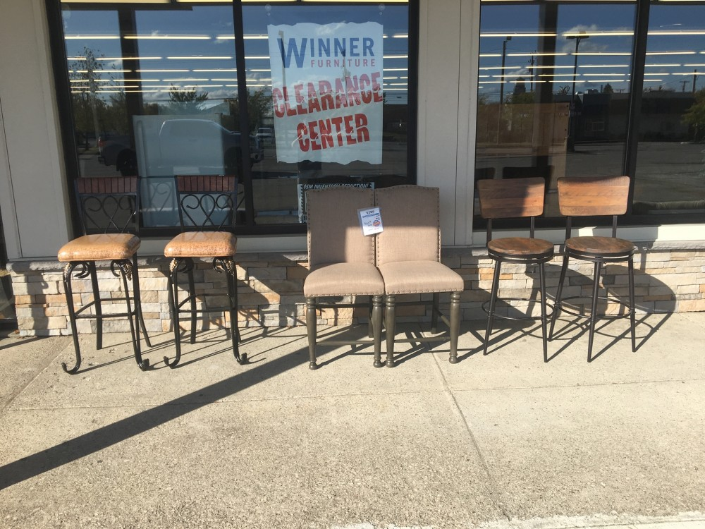 Clearance Stools and Chairs!