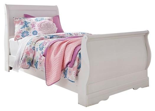Anarasia - Twin Sleigh Bed