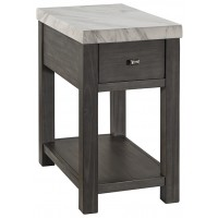 Vineburg - Chair Side End Table