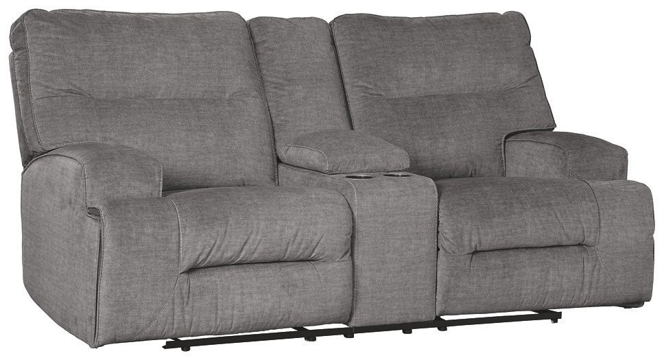 Coombs - DBL Rec Loveseat w/Console