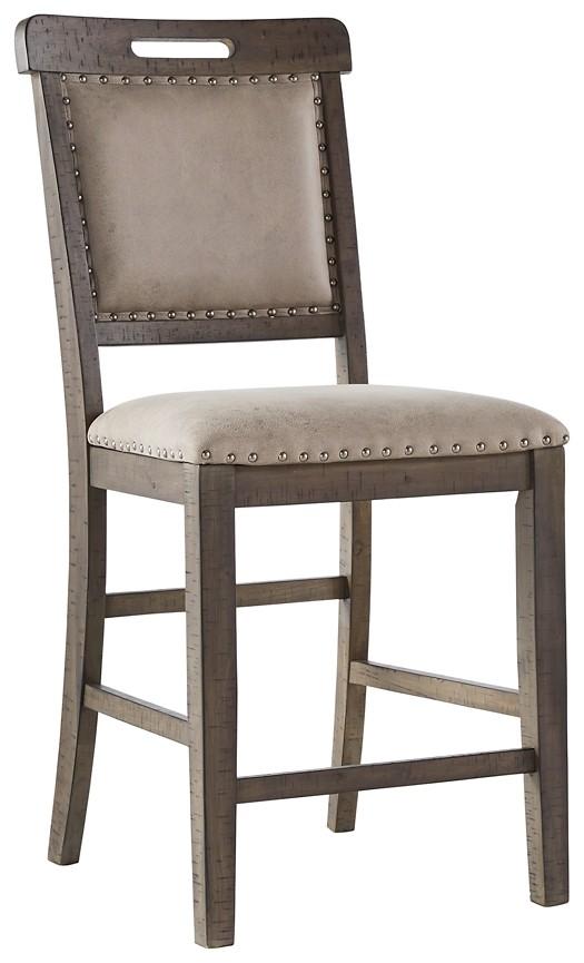 Johurst - Upholstered Barstool (2/CN)
