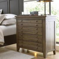 Mill House Map Drawer Bedside Chest