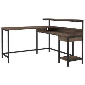 Arlenbry - L-Desk with Storage