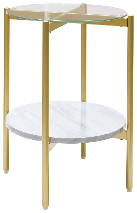 Wynora - Round End Table