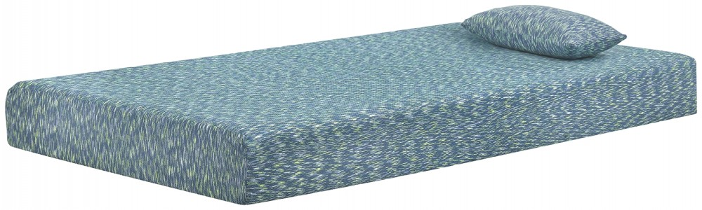 iKidz Blue - Twin Mattress and Pillow 2/CN