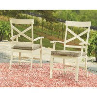 Preston Bay - Arm Chair With Cushion (2/CN)