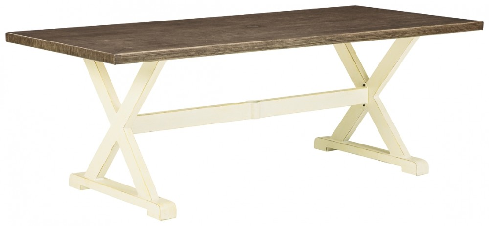 Preston Bay - RECT Dining Table w/UMB OPT