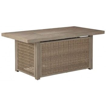 Beachcroft - Rectangular Fire Pit Table