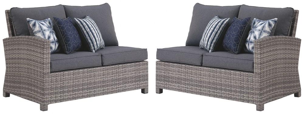 Salem Beach - RAF/LAF Loveseat w/CUSH (2/CN)
