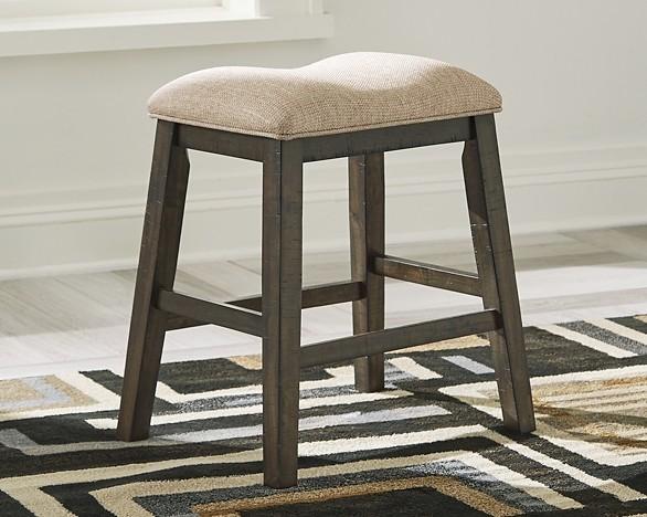 Rokane Upholstered Stool 2 Cn D397 024 Bar Stools Fos Furniture Fl