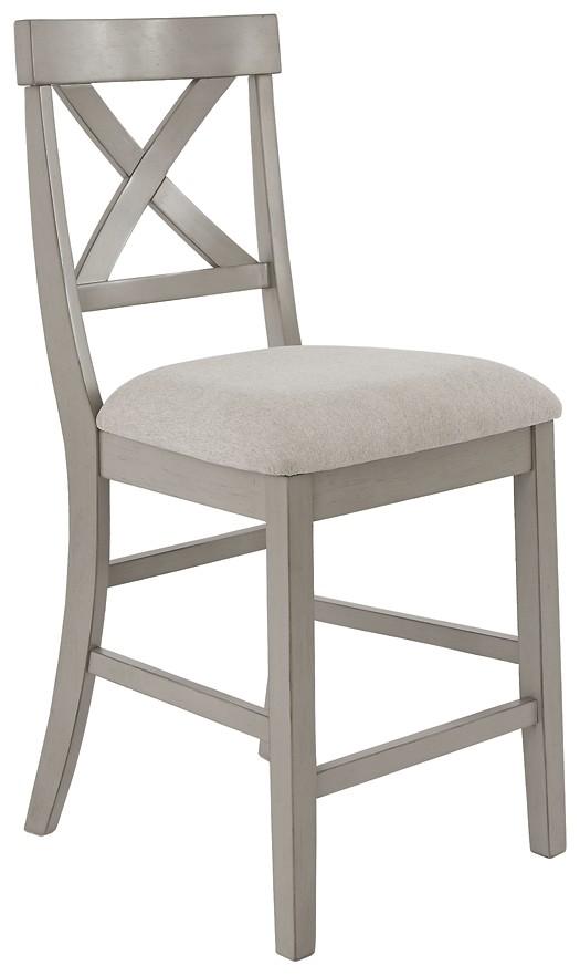 Parellen - Upholstered Barstool (2/CN)