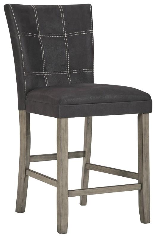 Dontally - Upholstered Barstool (2/CN)