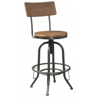 Pinnadel - Tall Swivel Stool (2/CN)