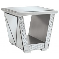 Fanmory - Square End Table