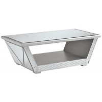 Fanmory - Rectangular Cocktail Table