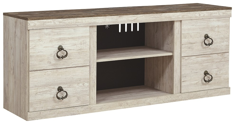 Willowton - LG TV Stand w/Fireplace Option