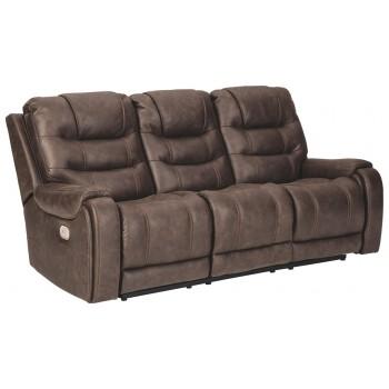 Yacolt - PWR REC Sofa with ADJ Headrest
