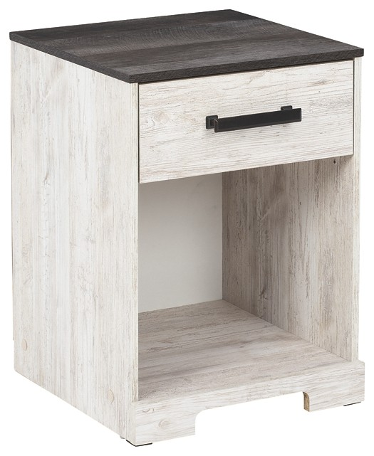 Shawburn - One Drawer Night Stand