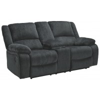Draycoll - DBL Rec Loveseat w/Console