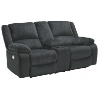 Draycoll - DBL REC PWR Loveseat w/Console
