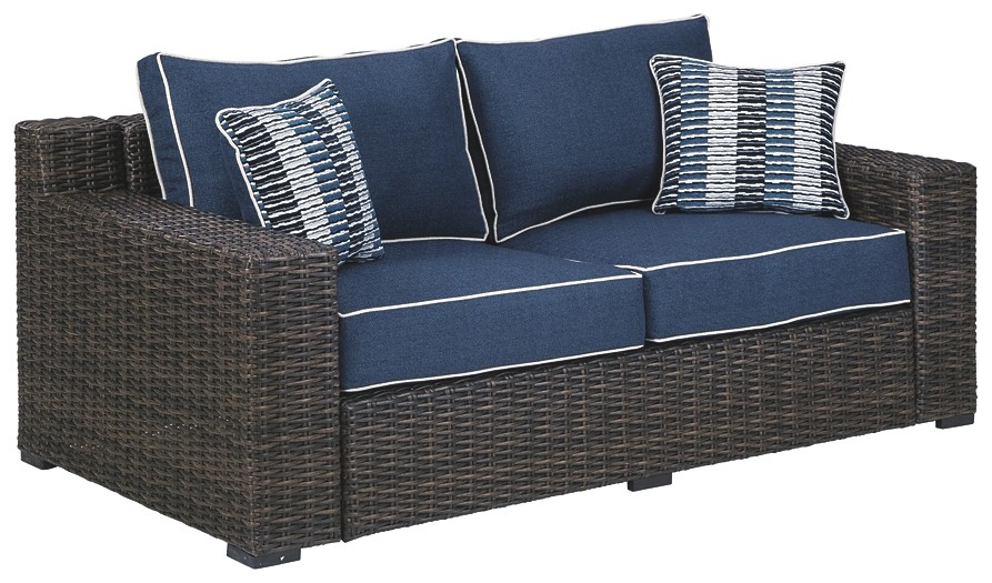 Grasson Lane - Loveseat w/Cushion