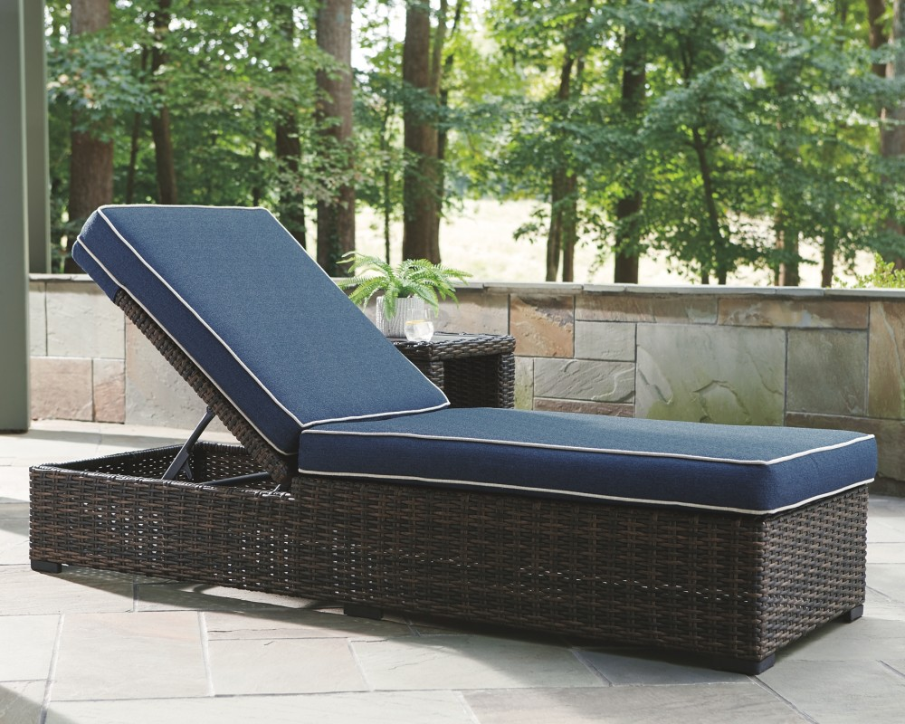 Grasson Lane Chaise Lounge With Cushion P783 815
