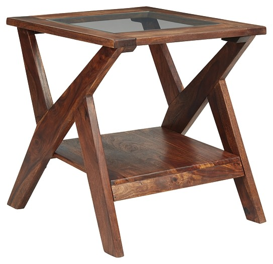 Charzine - Rectangular End Table