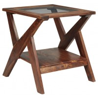 Charzine - Rectangular End Table