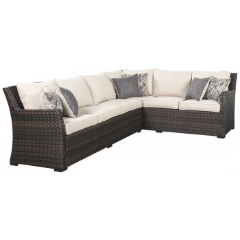 Easy Isle - Sofa SEC/Chair w/CUSH (3/CN)