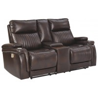 Team Time - PWR REC Loveseat/CON/ADJ HDRST