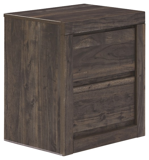 Vay Bay - Two Drawer Night Stand