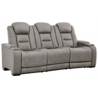 The Man-Den - PWR REC Sofa with ADJ Headrest