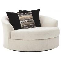 Cambri - Oversized Round Swivel Chair