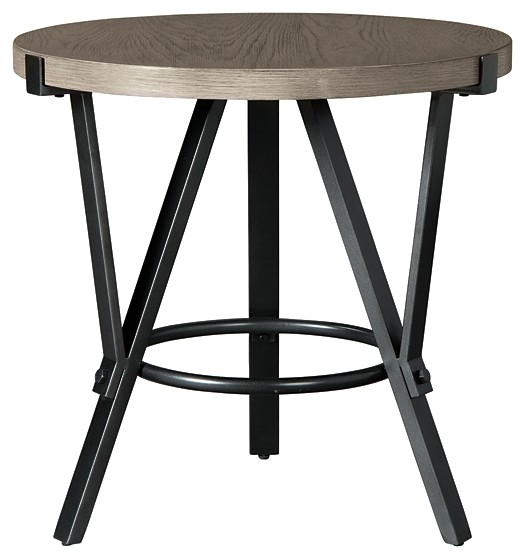 Zontini - Round End Table