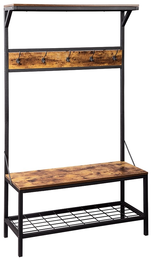 Bevinfield - Hall Tree with Storage Bench