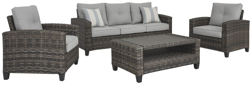 Cloverbrooke - Sofa/Chairs/Table Set (4/CN)