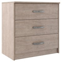 Flannia - Three Drawer Chest