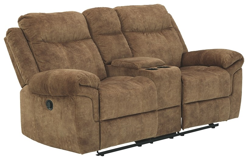 Huddle-Up - DBL Rec Loveseat w/Console