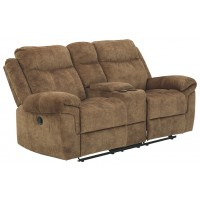 Huddle-Up - Glider REC Loveseat w/Console