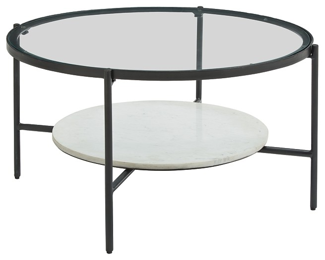 Zalany - Round Cocktail Table