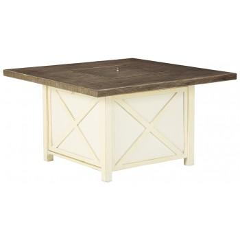 Preston Bay - Square Fire Pit Table
