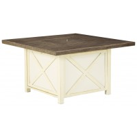 Preston Bay - Square Fire Pit Table