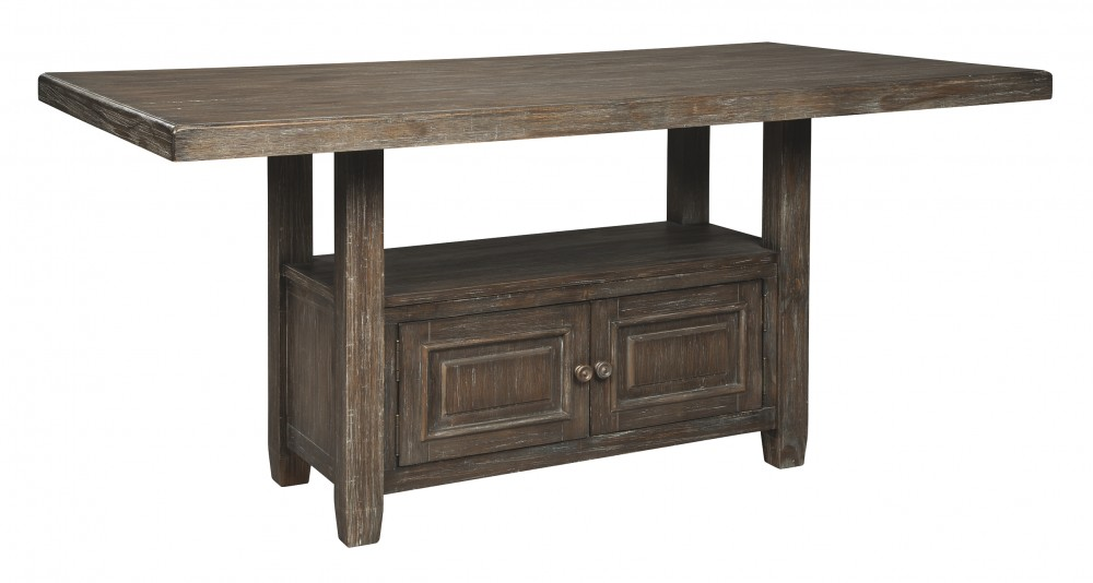 Wyndahl - RECT Counter Table w/Storage
