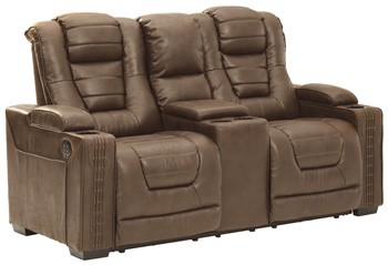 Owner's Box - PWR REC Loveseat/CON/ADJ HDRST