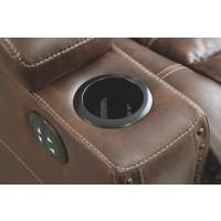 Owner's Box - PWR REC Sofa with ADJ Headrest