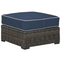 Grasson Lane - Ottoman with Cushion