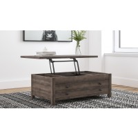 Arlenbry - LIFT TOP COCKTAIL TABLE