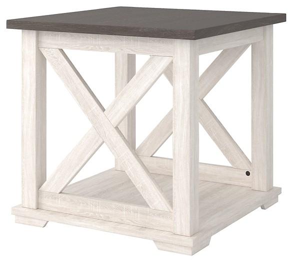 Dorrinson - Square End Table