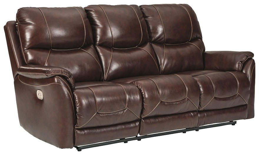 Dellington - PWR REC Sofa with ADJ Headrest